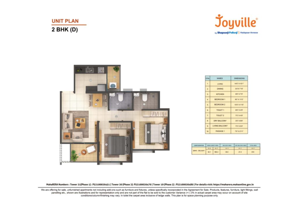 shapoorji pallonji manjri floor plans